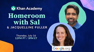 Homeroom with Sal & Jacquelline Fuller - Thursday, July 16