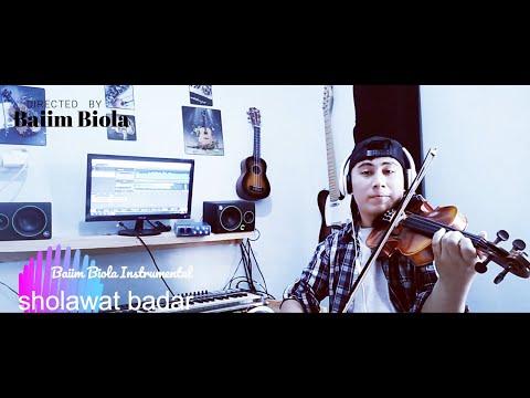 Instrumental Biola Sholawat Badar By Baiim Biola