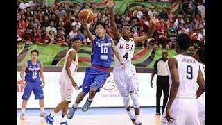 When Batang Gilas Faced Future NBA Stars | PHL v USA Highlights | FIBA U17 World Cup 08.11.14