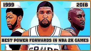 Best Power Forwards in NBA 2K Games [NBA 2K - NBA 2K18]