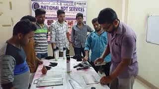 NDT Courses - Magnetic Practical Testing (MPT) Training Practical Video
