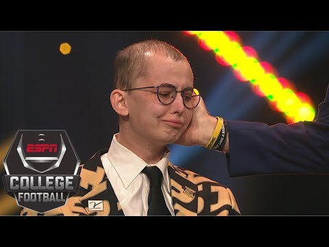 Purdue superfan Tyler Trent humbly accepts Disney Spirit Award   College Football