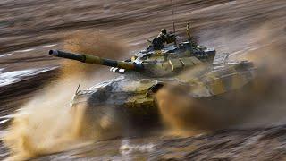 Динамический показ ВВСТ танковых войск