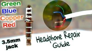 How to repair a broken headphone jack (Samsung  headphone)