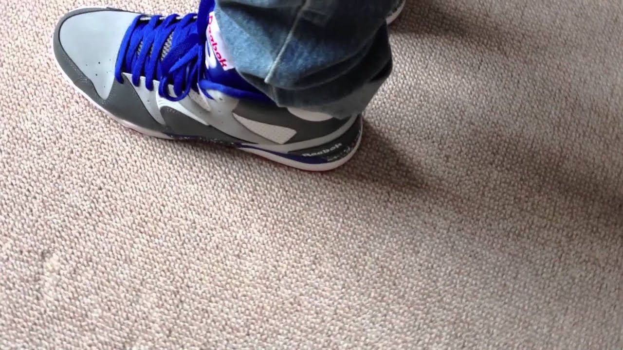 41ff0d0742c2d Reebok Classic Jam On Feet 1080p - YouTube