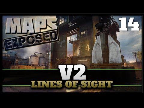 V2 Lines of Sight & Secret Spots! | Cod WW2 DLC 2 Maps Exposed #14