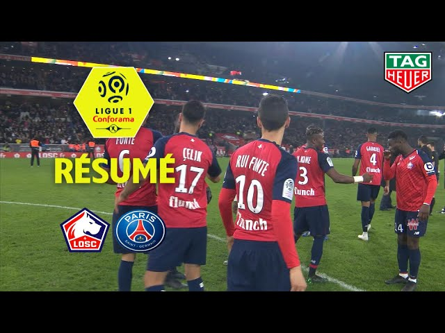 LOSC - Paris Saint-Germain ( 5-1 ) - Résumé - (LOSC - PARIS) / 2018-19