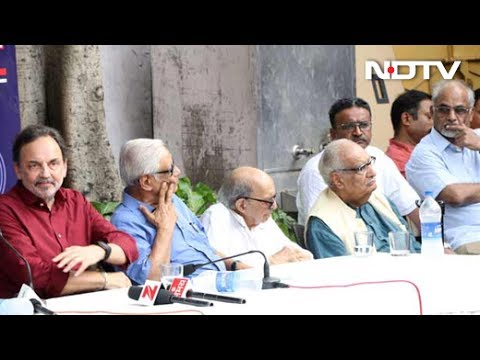 Press Club Of India Meets On Raids On NDTV