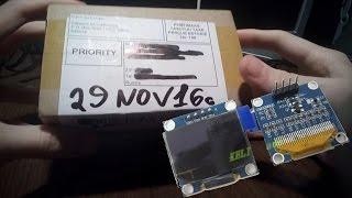 Посылка из Китая №4 - OLED Дисплей 128*64 для Ардуины