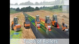 types of rollers for compaction   different types of rollers   rollers   shailesh 360