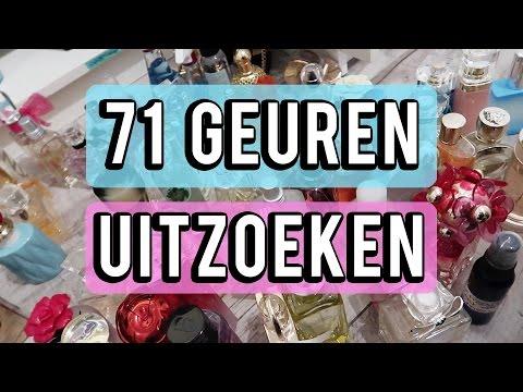 71 parfum geuren uitzoeken en opruimen | Beautygloss