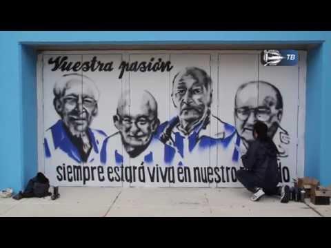Nuevos murales albiazules