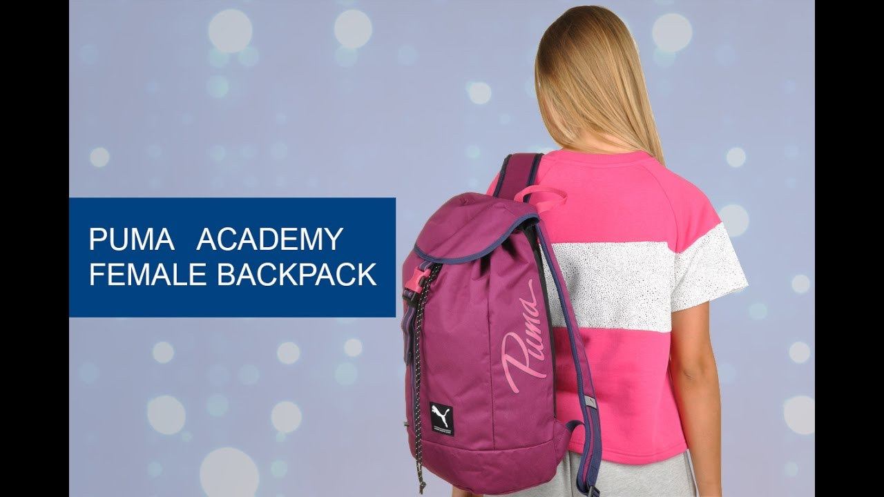 631ce9c96f Обзор рюкзака Puma Academy Female Backpack - YouTube