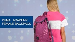 Обзор рюкзака Puma Academy Female Backpack