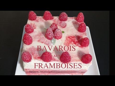 bavarois-aux-franboises