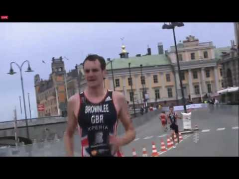 Alistair Brownlee win the WTS Stockholm | Triathlon | Allon Sports