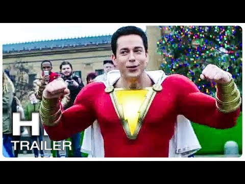SHAZAM All Movie Clips + Trailer (2019)