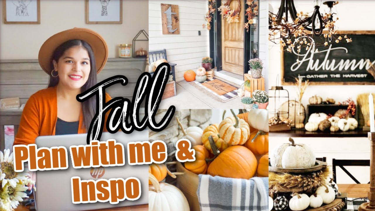 Fall Decorating Ideas 2020 Fall Plan Shop Withme Neutral Cozy Fall Home Decor Inspo Youtube