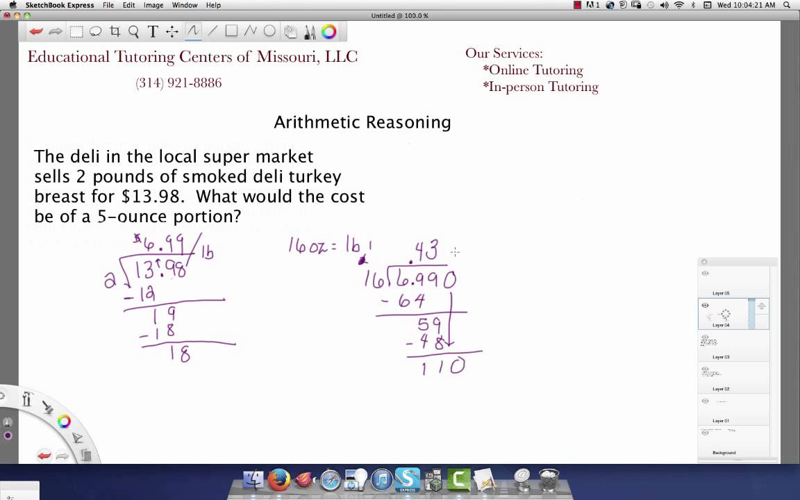 Arithmetic Reasoning - YouTube