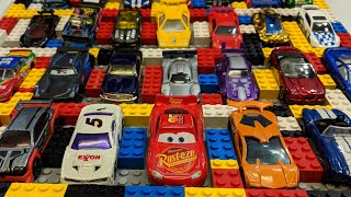 Cars Video for Kids Cool #Cars Display Made with Lego Blocks