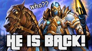 Who is he?! Who Cares BUT HE IS BACK! | Saviors of Uldum | Hearthstone