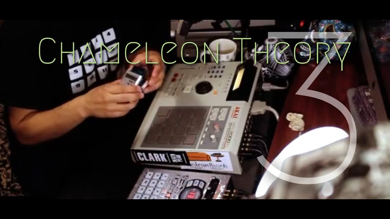 CHAMELEON THEORY 3: Beat Making and dissecting Lo Fi Hip Hop on Akai MPC  and Roland SP 404 sx
