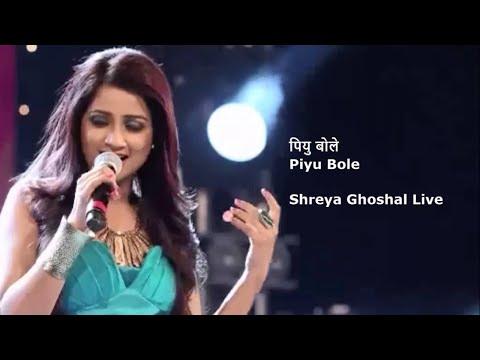 Piyu Bole || Parineeta || Shreya Ghoshal || Live