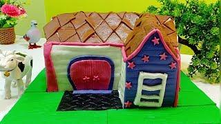 കേക്ക് കൊണ്ട് ഉണ്ടാക്കിയ..😋😋 ( SUMIS TASTY KITCHEN Home Out of a Cake ) ഒരു സ്വപ്ന വീട്