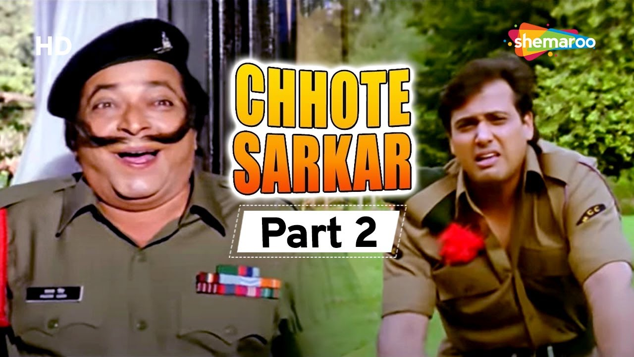 Chhote Sarkar | Superhit Comedy Movie | Movie In Part 02 | Kader Khan - Govinda - Shilpa Shetty
