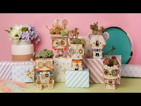 Flower pot collection | Gifts for girls and boys