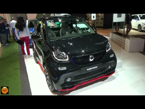 2017 Smart Fortwo Cabriolet Nightrunner - Exterior and Interior - Auto Show Brussels 2017