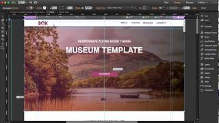 Create a responsive website in Muse in 15 minutes [Starting from a template]