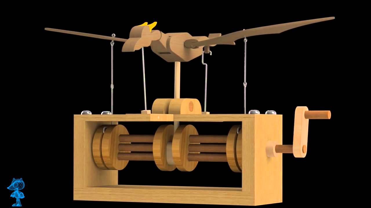 Flying Dragon Wooden Toy 3d Model Youtube