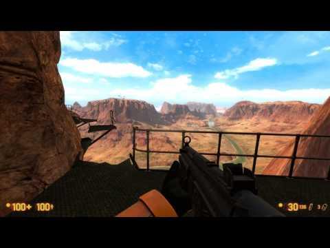 Black Mesa - Jet flyover