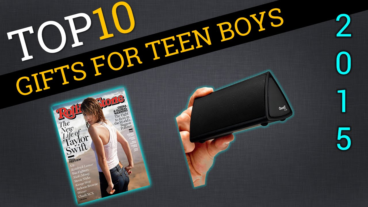 Top Ten Gifts for Teen Boys 2015 | Best Teenage Boy Gifts - YouTube