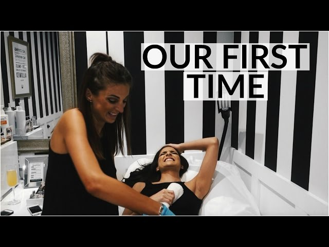 OUR FIRST TIME! Bikini Sugaring Full Experience