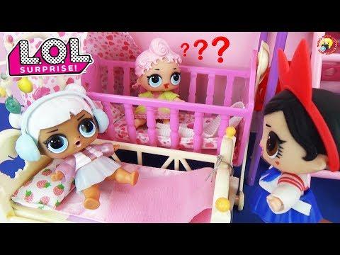видео: Мультик Куклы ЛОЛ СЮРПРИЗЫ ДОМА Сестрички играют в прятки Видео для детей toys dolls l.o.l. surprise