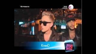 Ru Новости.Съемки клипа KReeD & Алексей Воробьев