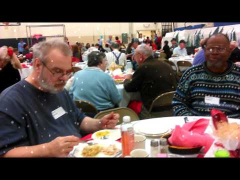 Christmas  Dinner at Queen Miraculous Medal School 2016