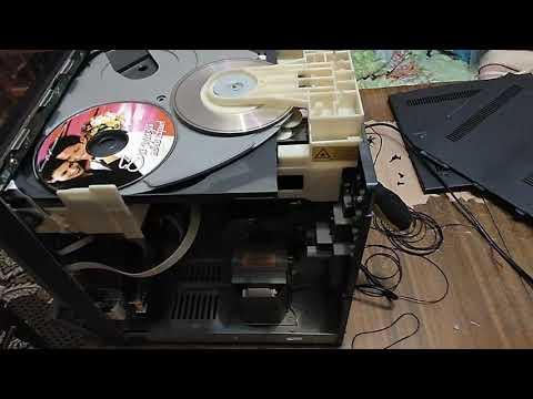 музыкальный центр Aiwa, звук , CD, быстрый ремонт, лайфхак