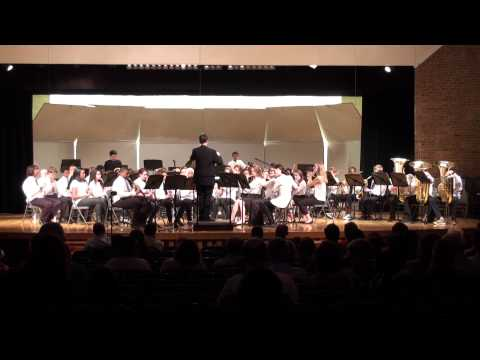 Shaker Hts Middle School 8th Concert Winds- Unity March- 4/29/2014