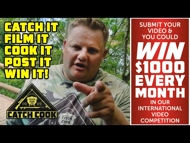 Submit your video and win $1000 every month - catch cook video competition