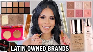 FULL FACE OF LATINA OWNED BEAUTY BRANDS! Amazing NEW Products