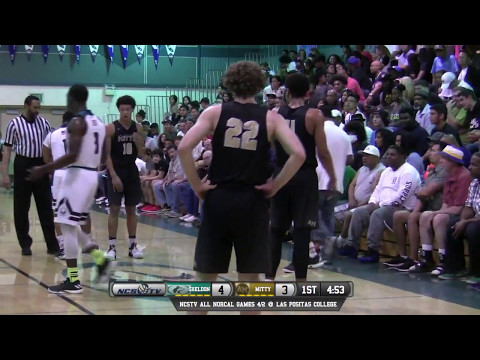 Archbishop Mitty vs Sheldon High School Boys Basketball Open Division Playoffs LIVE 3/14/17