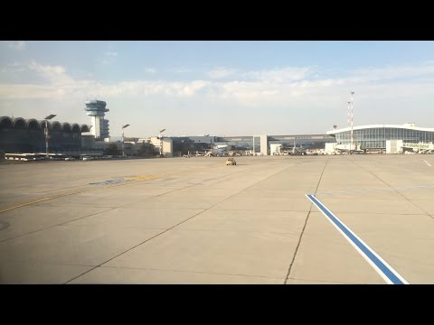 Flying - Landing Into Henri Coandă International Airport (Otopeni, Bucharest, Romania)