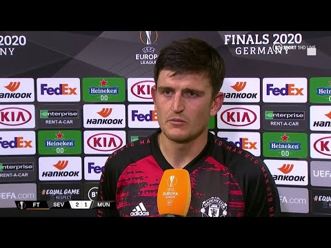 Losing is not acceptable Harry Maguire reacts to Sevilla 2-1 Man Utd