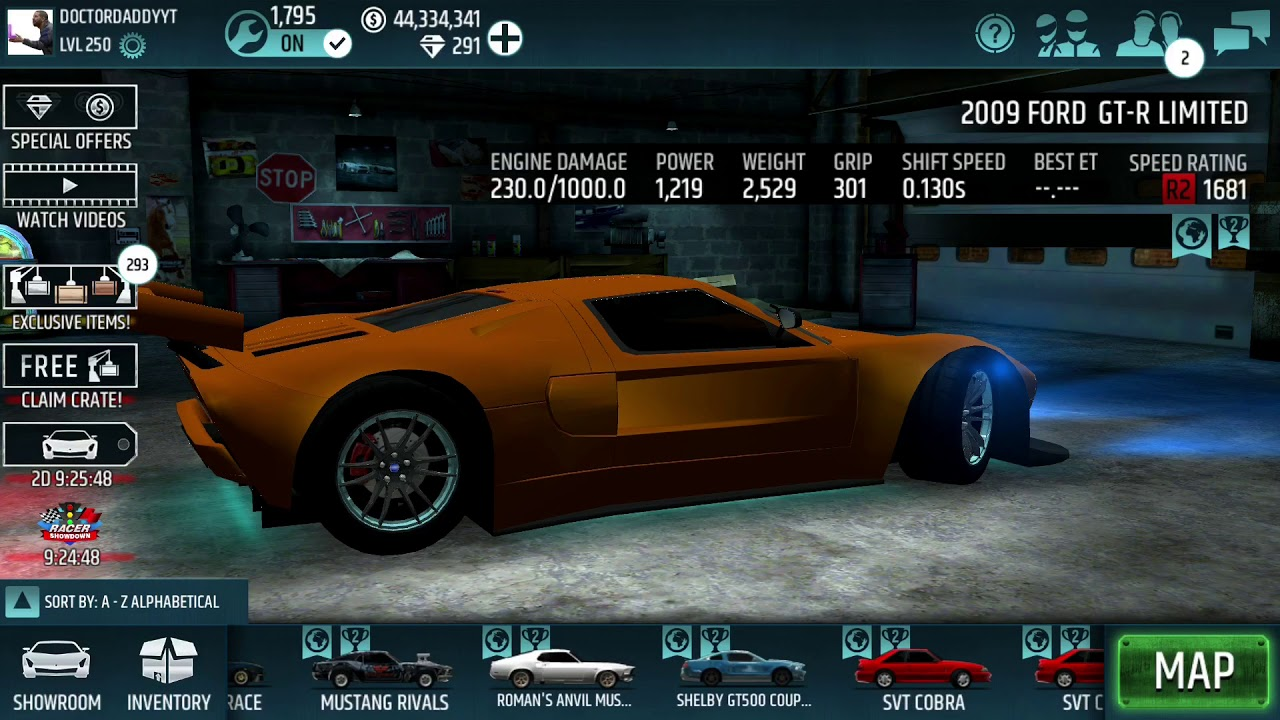 Huge Garage Sale! Nows Your Chance to Buy My Cars! ( Racing Rivals ...