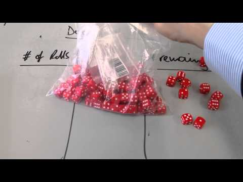 Yr 10 Radioactivity Decay of Dice Practical