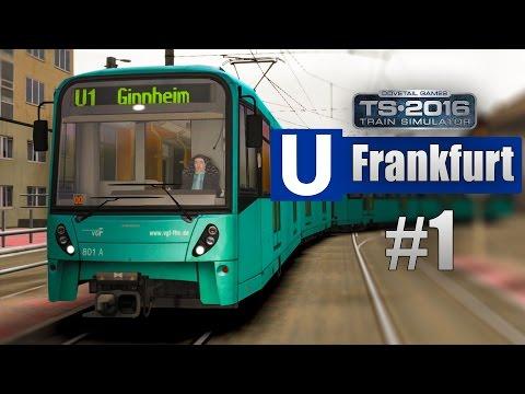 Train Simulator 2016: U-Bahn Frankfurt #1 - Mit der Flexity Swift Straßenbahn auf der U5 unterwegs!