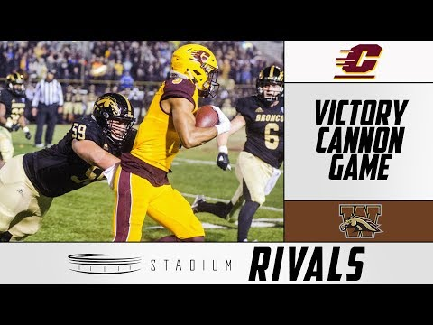 Western Michigan-Central Michigan Rivalry: History Of The Victory Cannon Game | Stadium Rivals